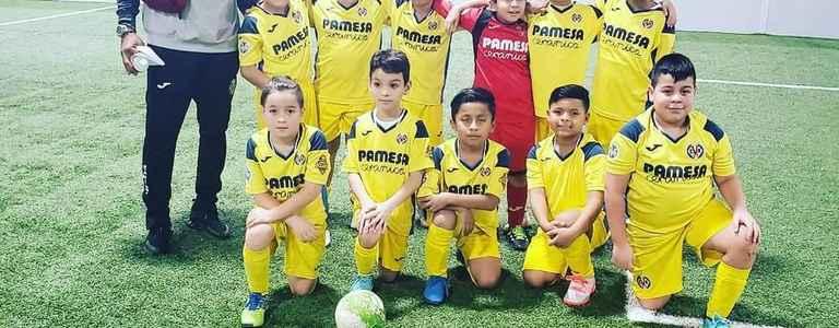 Villarreal NY Bolaños U10 team photo