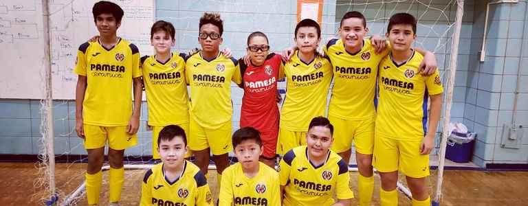 Villarreal NY Bolaños U14 team photo