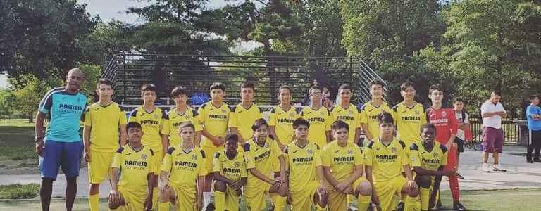 Villarreal NY Bolaños U16 team photo