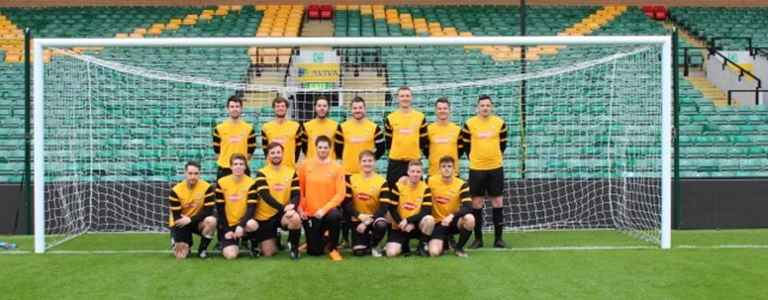 Waveney FC Sunday team photo