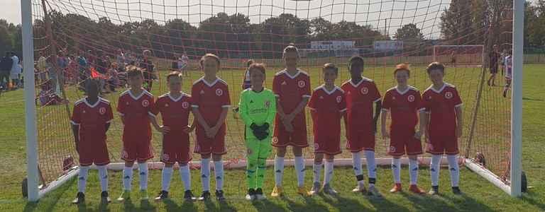 Welling Utd U11 Reds team photo