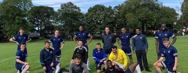 West Yorkshire Falcons FC team photo