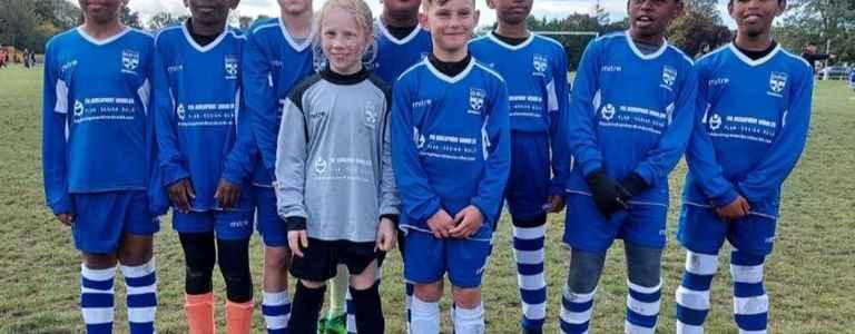 Whiteknights U10 Rangers team photo