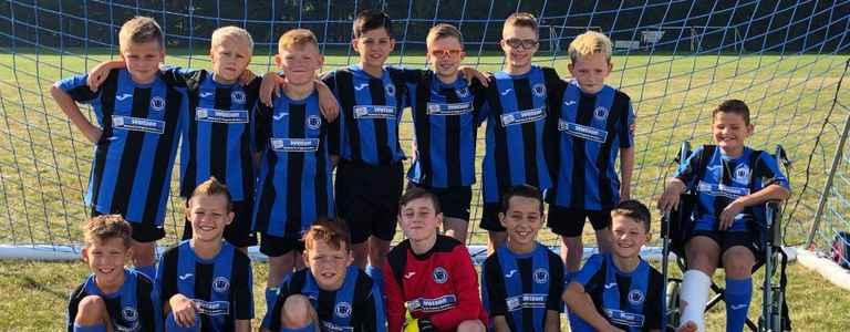 Whittlesey Junior FC Black U13 team photo
