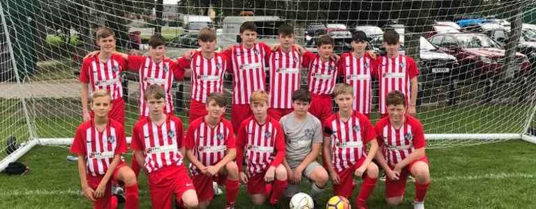 Winstanley Warriors City FC - Under 16 (Section B) team photo