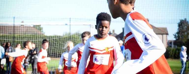 Woking Primary Schools FA team photo
