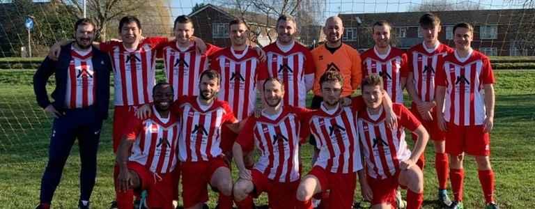 WS Hobnob FC team photo